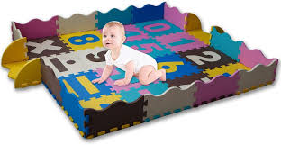 Amazon Com Kaybaby Baby Play Mat With Safe Fence Extra Large Foam Tiles Tummy Time Mat Playmat For Kids Toddlers Crawling Play Rug For Play Baby Activity Gym Playroom Garden Outdoor