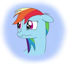 EQD Training Grounds Day 4: Rainbow Dash on Tears by ...
