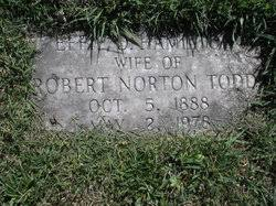 Effie Hamilton Todd (1888-1978) - Find A Grave Memorial