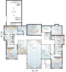 pool house plans luxury floor plans