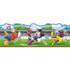 mickey mouse donald football self