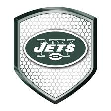York Jets Reflector Auto Decal New Ny Nfl Car Emblem Shield Sticker Cdg New York Jets Nfl Car Reflective Decals