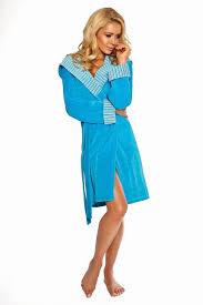 NZSALE | Luxury Cotton Bathrobes Velour Dressing Gown Forsycja ...