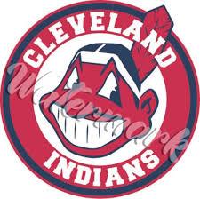 Cleveland Indians Chief Wahoo Circle Vinyl Decal Sticker Ebay