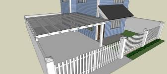 Two Storeys Fence Gate Carport Reach Out Build Inc