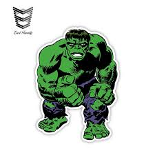 Earlfamily 12cm X 8 8cm Incredible Hulk Sticker Decal Comics Art Funny Vinyl Bumper Car Stickers Car Styling Car Stickers Aliexpress