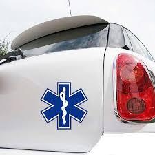 Medical Car Sticker Decal