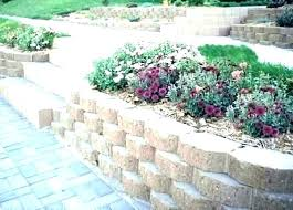 building blocks for garden walls