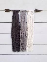 Custom Macrame Suspension - you choose your favorite colors 3 ... | Macrame  patronen, Doe het zelf en knutselen, Macramé