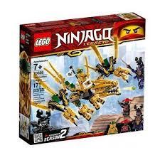 Đồ Chơi Xếp Hình LEGO Rồng Vàng 70666