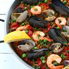 Seafood Paella (Paella de Marisco ...