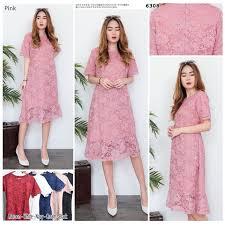 Padahal asal model dan pilihan warnanya sesuai, dress ini dapat membuat penampilan anda lebih. Jual Blouse Brokat Baju Kekinian Dress Gaun Pesta Model Fashion Wanita Kab Magetan Enjie Store Tokopedia