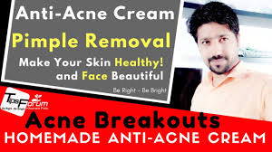 anti acne pimple removal homemade