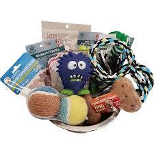 little monster gift basket for dog