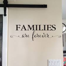 Families Are Forever Vinyl Wall Decal 2 Family Photo Wall