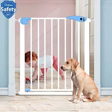 Iron Baby Safety Gate Security Stairs Door Fence For Kids Children Protection Safe Doorway Gate Pets Dog Isolating Fence Product Gates Doorways Aliexpress