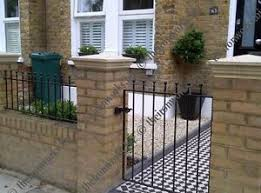 tall garden gate metal made to measure