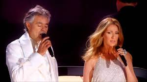 Andrea Bocelli, Celine Dion The Prayer live - YouTube