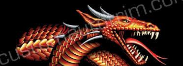 Dragons Rear Window Graphics Back Window Decals