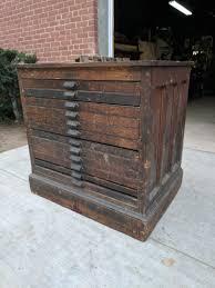 type case printers cabinet 12 drawer