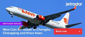 new lion air flight routes to chengdu
