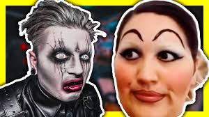 goth reacts to makeup fails kinda