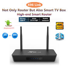 Đầu Phát Wifi X96 Link 2+16g Android 7.1 Smart Tv Box 4k 4 Cổng ...