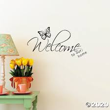 Welcome To Our Home Wall Decal Discontinued