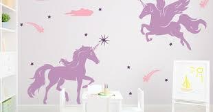 Magical Unicorns Wall Decal Unicorn Wall Decal Unicorn Room Decor Unicorn Bedroom