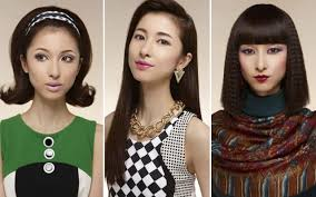 anese makeup trends of the past 100