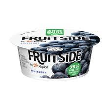 fruitside blueberry flavor yogurt