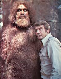 Andre the Giant as Sasquatch, with Lee Majors on The Six Million ...