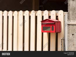 Mailbox Front House Image Photo Free Trial Bigstock