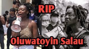 Oluwatoyin 'Toyin' Salau, Missing BLM Activist Assumed Dead