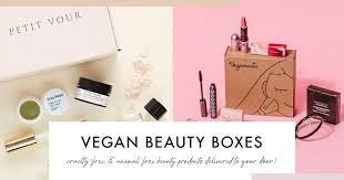 list of free vegan beauty box
