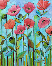 Coral Poppies | McGaw Graphics