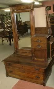 antique chevelle dresser hat box chest