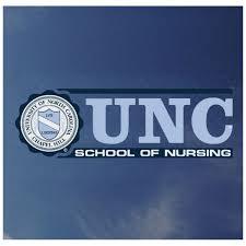 Johnny T Shirt North Carolina Tar Heels School Of Nursing Outside Application Window Decal By Cdi