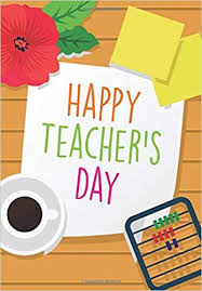 happy teacher s day teacher notebook gift journal planner