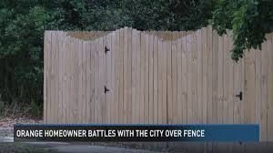 Homeowner Battles With The City Of Orange Over Her Fence 12newsnow Com