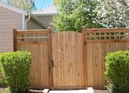 Gates Craftsman Landscape Denver By Split Rail Fence Co Denver Co