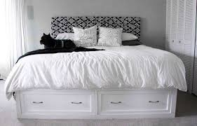 classic storage bed king ana white