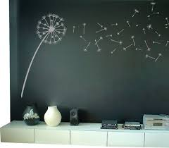 Dandelion Blowing In The Wind Wall Decal Contemporary Wall Decals By Dali Decals