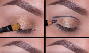 the cut crease look for your night out