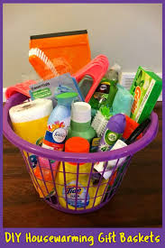 house warming gift basket ideas easy