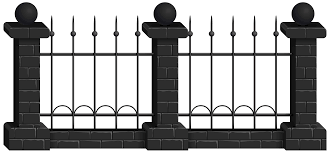 Black Fence Png Clip Art Image Gallery Yopriceville High Quality Images And Transparent Png Free Clipart