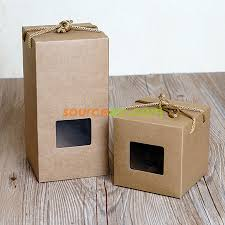 kraft paper gift box corporate gifts