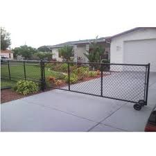 Black Mild Steel Residential Chain Link Fencing Rs 55 Kilogram Id 20833584230