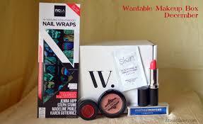 wantable makeup box december ncla