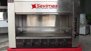 Lò nướng salamander 6 họng gas WYG-745-B – Savimax.vn